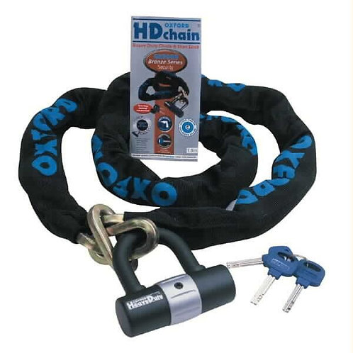 Oxford HD Chain and Lock 1.5m OF159