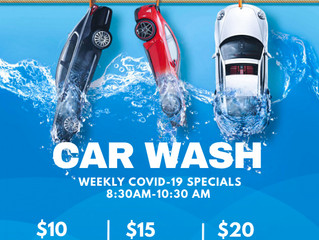 Early Bird Exterior Wash Lovers' Special