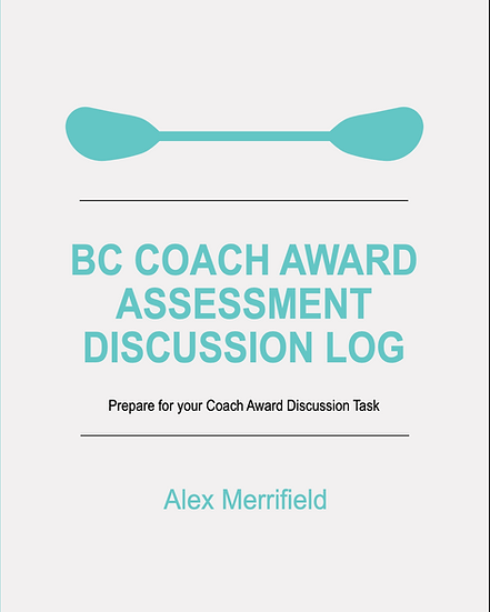 BC Coach Award Assessment Discussion Log