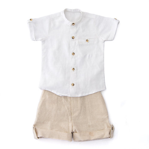 2 Pc Boy Shirt and Shorts set KAB106