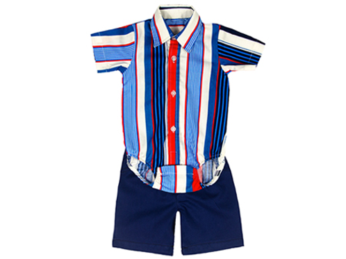 KARIU BABY BOY 2 PC SHIRT AND SHORT KAB102
