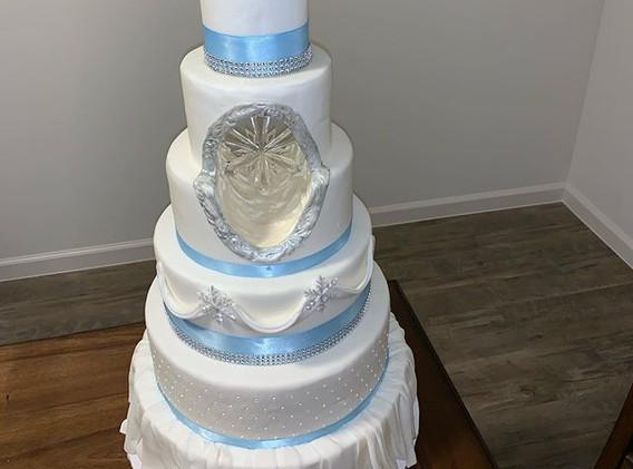 I originally made this cake in a class w