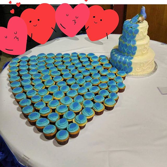 Flashback to one of the 1st wedding cake