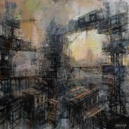 oil on canvas 70/70 2020