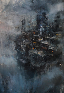oil on canvas 170/120 2019