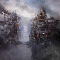 oil on canvas 180/180 2020