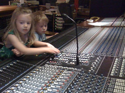 Mixing with Dad