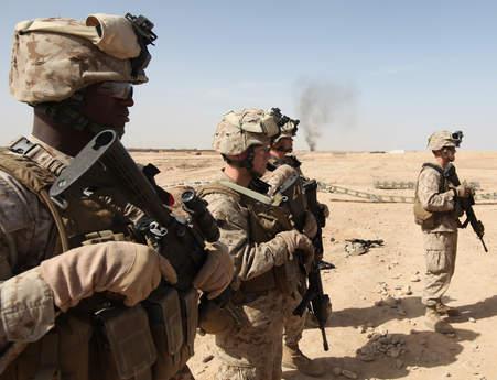 Marines receive safety brief