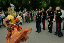Marine Band in Central Park, NYC