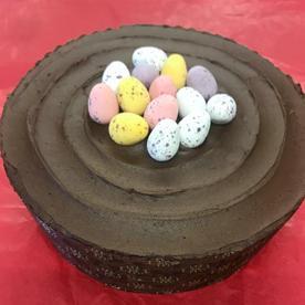 Chocolate Mini Egg Cake