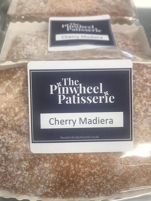 Cherry & Almond Madeira Loaf Cake