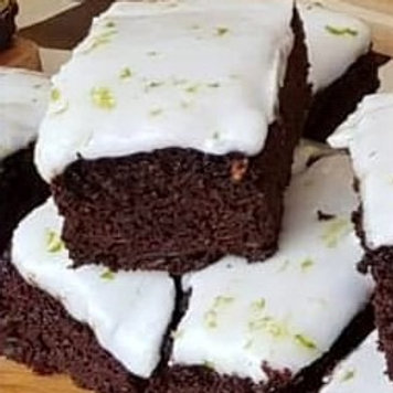Vegan Chocolate Lime Cake