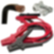 Jump leads, battery terminals