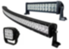 vehicle led work lamps and bars