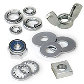 wing nuts, washers