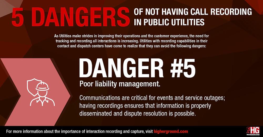 Poor Liability Management