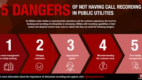 Five Dangers of Not Having Call Recording in Public Utilities
