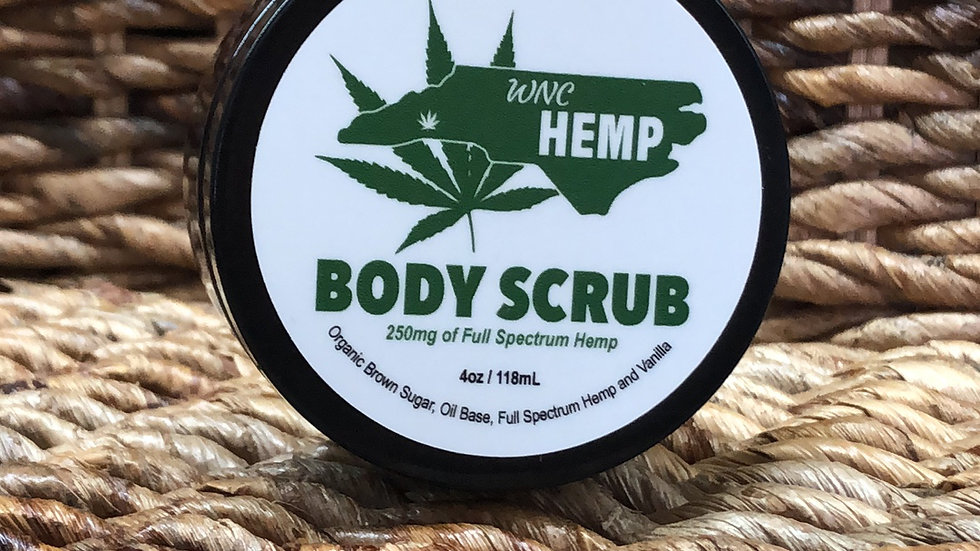 WNC Hemp Body Scrub