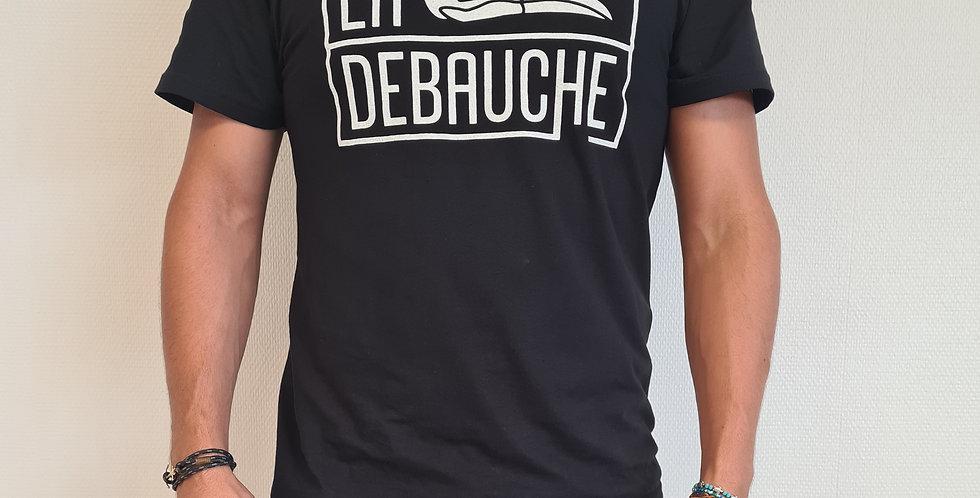 T-shirt La Débauche - noir