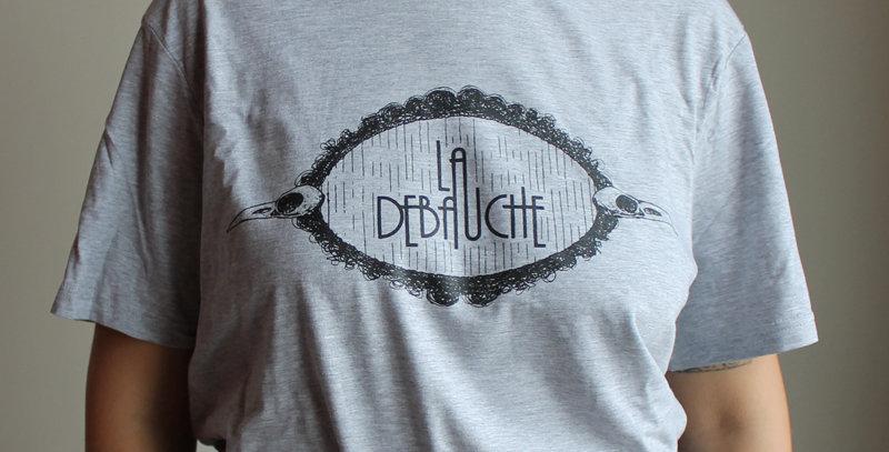 T-shirt logo La Débauche