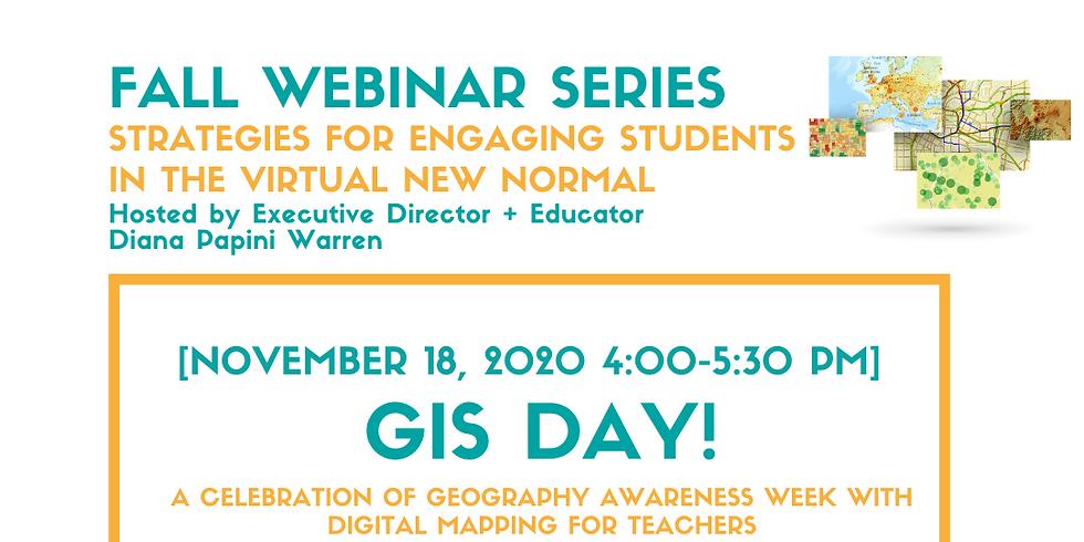 GIS Day - Webinar for Teachers
