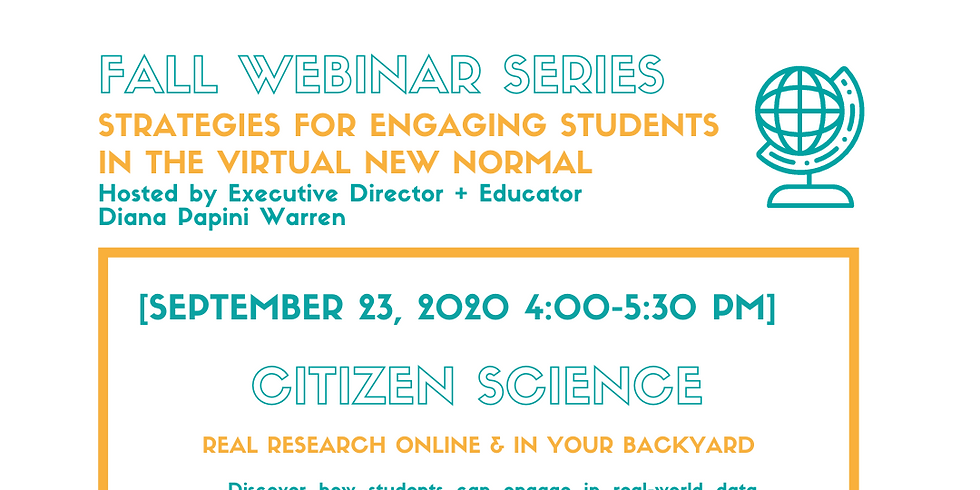 Citizen Science - Real Research Online & In Your Backyard