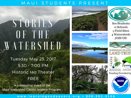 Stories of the Watershed Event