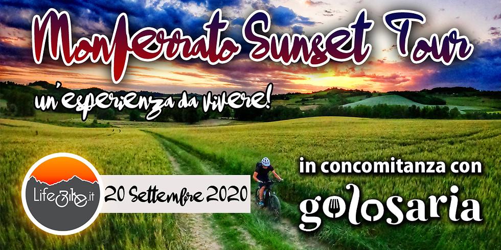 MONFERRATO SUNSET TOUR GOLOSARIA EDITION