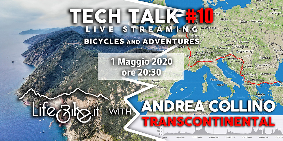 TECH TALK #10 Bicycles and Adventures with Andrea Collino