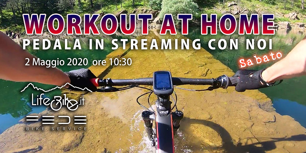 Workout at Home Pedala insieme a noi, Speciale Sabato!