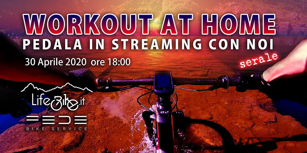 Workout at Home Pedala insieme a noi, speciale serale