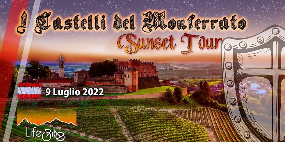 I CASTELLI DEL MONFERRATO  SUNSET TOUR