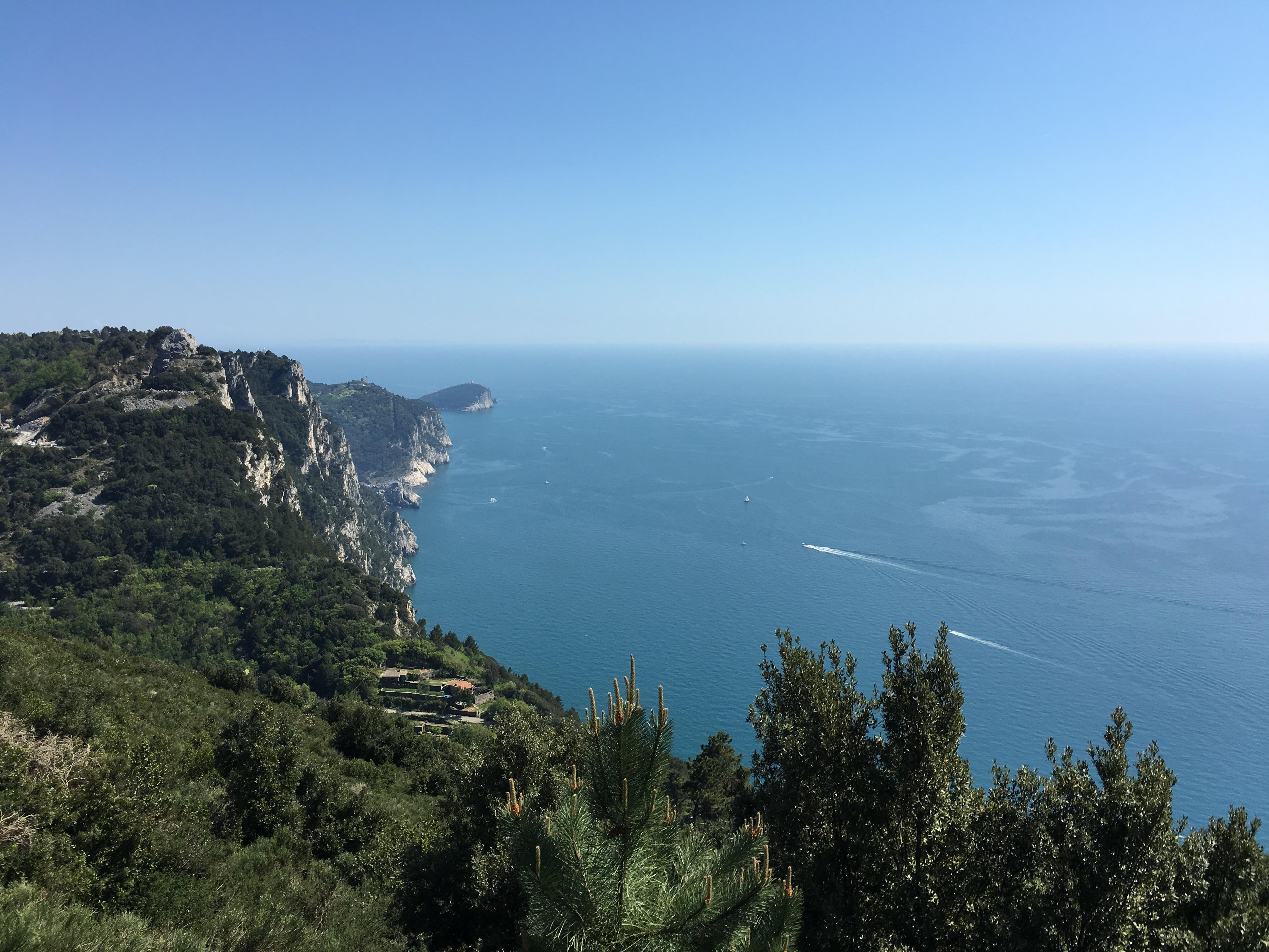 SCORCIO SU PORTOVENERE -  Alta Via d
