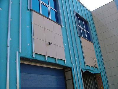 Вынос инженерных коммуникаций на плоскость фасада