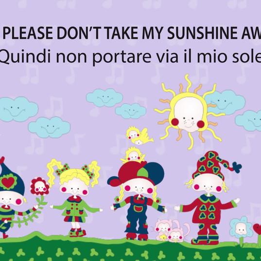 Lets Speak English (You are my sunshine)