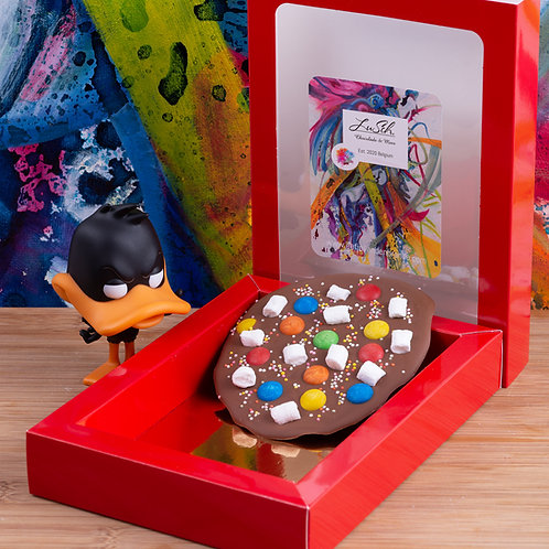 LuSch chocolate breaking tablet for kids