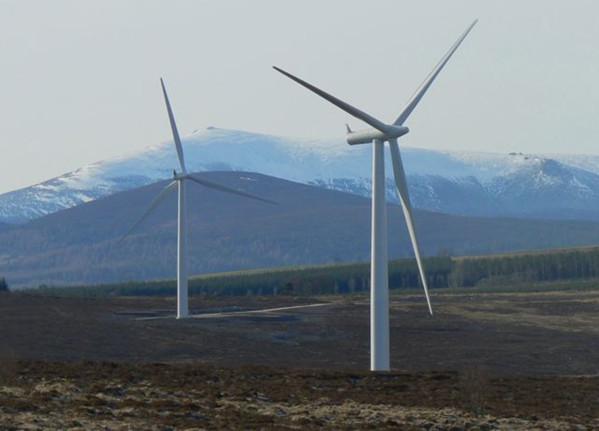 Bryn Blaen Windfarm, Powys