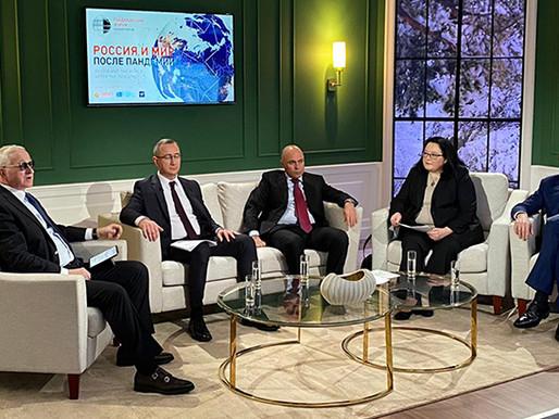 Игорь Артамонов выступил на Гайдаровском форуме