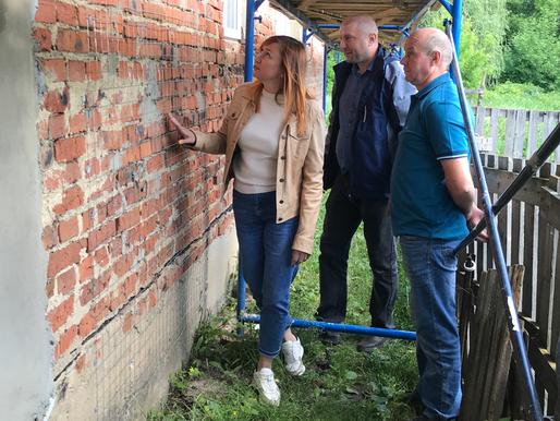 Выездное совещание областного Фонда капремонта состоялось в Лебедянском районе