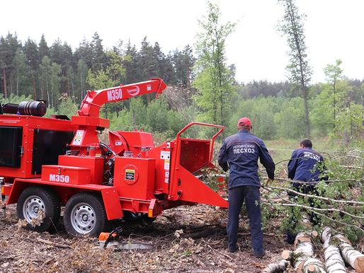«Торнадо» будет расчищать леса Липецкой области