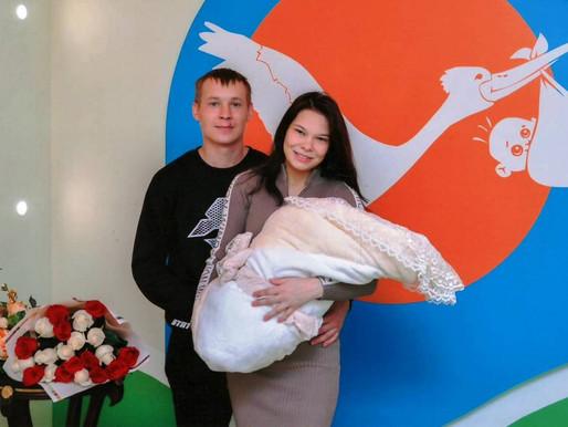Родители первенцев Липецкой области могут рассчитывать на помощь государства