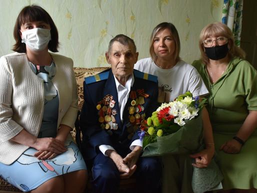 100-летний юбилей фронтовика
