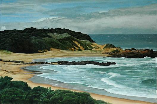 South Coast On A Westerly
