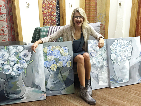 Featured Artist at Local Mississippi Boutique