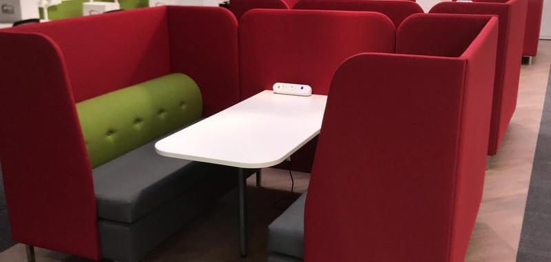 useful meeting booth