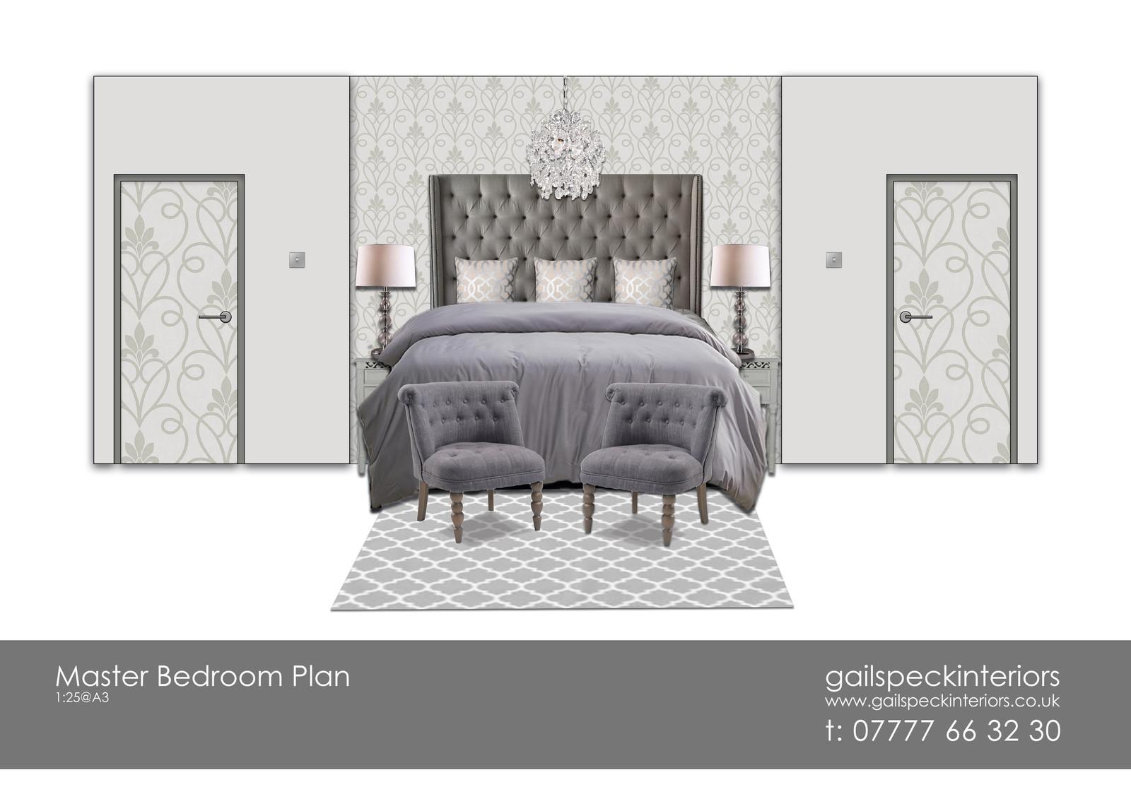 Photoshopped Bedroom Elevation