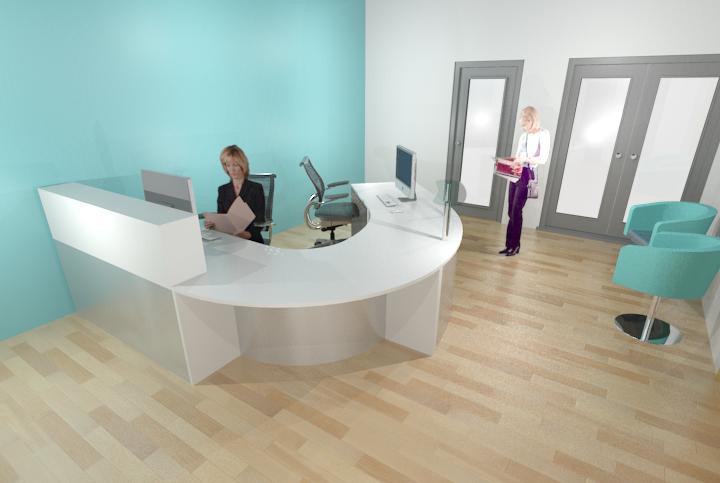 reception visual