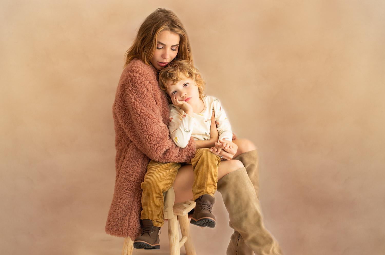 séance photo enfant et maman