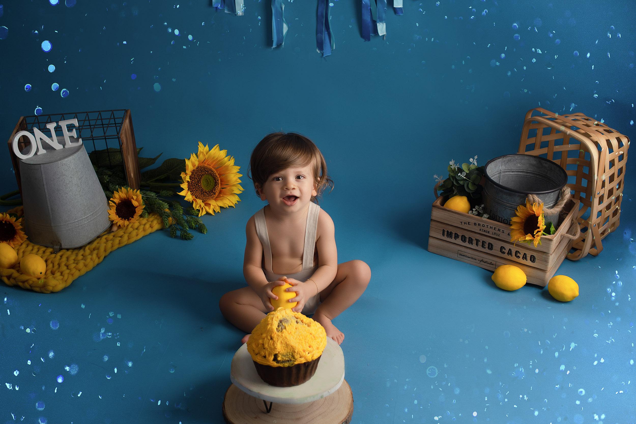 séance smash cake