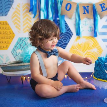 séance photo smash cake